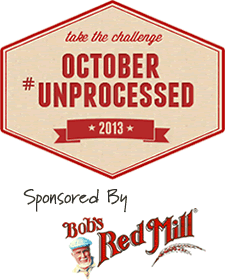 October Unprocessed 2013 sponsored by Bob's Red Mill
