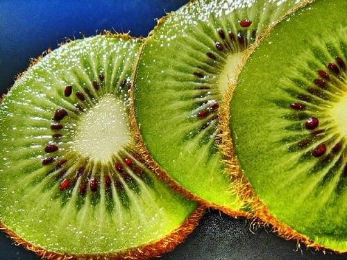 Kiwi Fruit Closeup