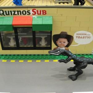 Quiznos Legos and Dinosaur