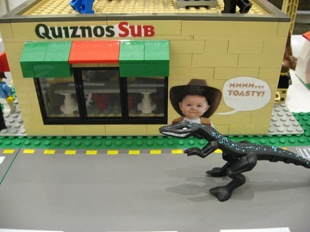 Quiznos Legos and Dinosaur
