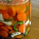 Pickled Carrots and Garlic