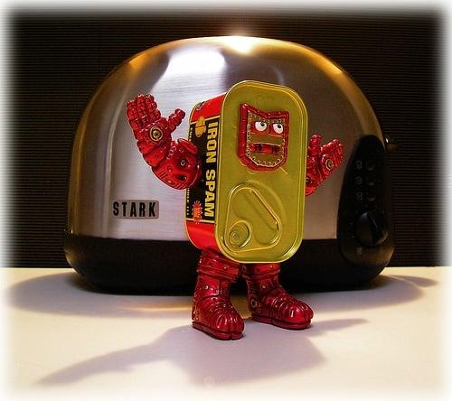 I am Iron Spam!