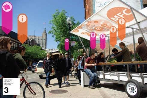 Mobile Food Collective in Wicker Park