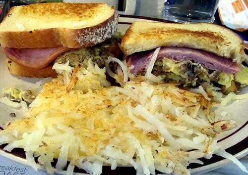 Denny's Grand Slamwich