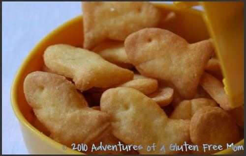 Gluten Free Goldfish Crackers