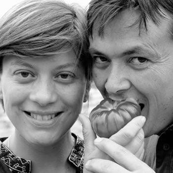 Barbara and Fabio Heirloom Tomatoes