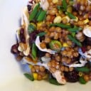 Chicken Cranberry Wheat Berry Salad