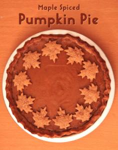 Maple Spiced Pumpkin Pie