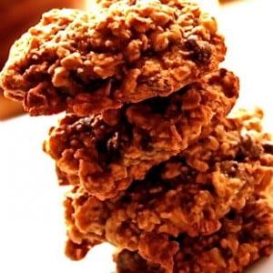 Whole Grain Oatmeal Maple Spice Cookies