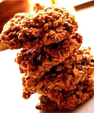 Whole Grain Oatmeal Maple Spice Cookies
