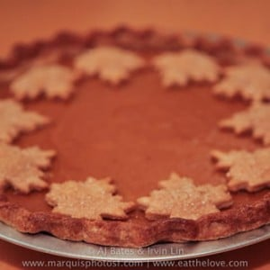 Maple Spiced Pumpkin Pie