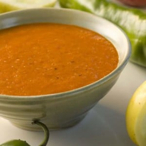Sweet Red Pepper Soup