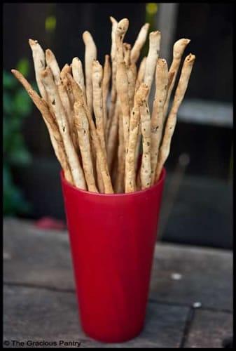 Whole Wheat Breadsticks