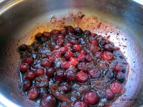 Simmering down the Cranberries