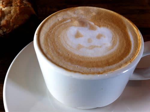 Halloween coffe