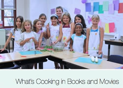 What's Cooking in Books and Movies