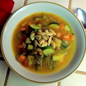 Vegetable Pumpkin Soup