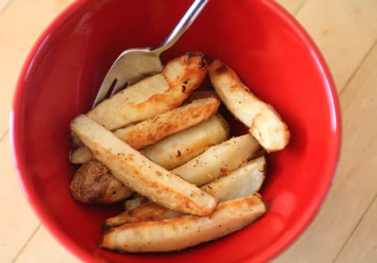 Easy Roasted Garlic Potatoes