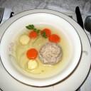 Whole Wheat Matzo Ball Soup