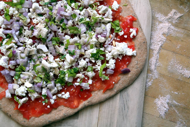 Healthy Homemade Whole Wheat Pizza Dough