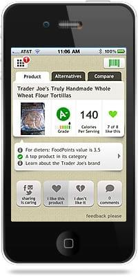 Fooducate iPhone App