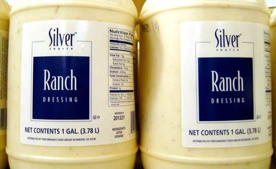 Avoid ranch dressing on your salad
