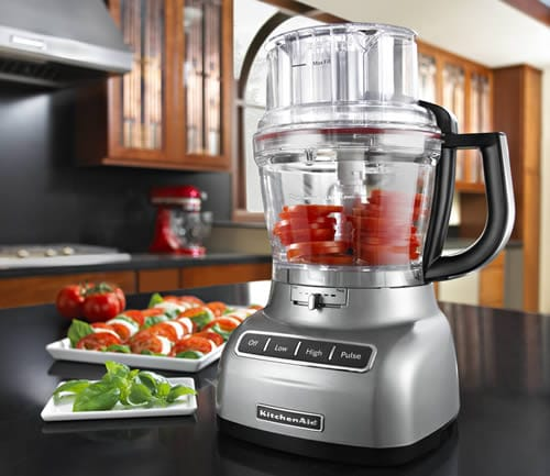 Mini Real Food Kitchen: KitchenAid 13-cup ExactSlice Food Processor Review