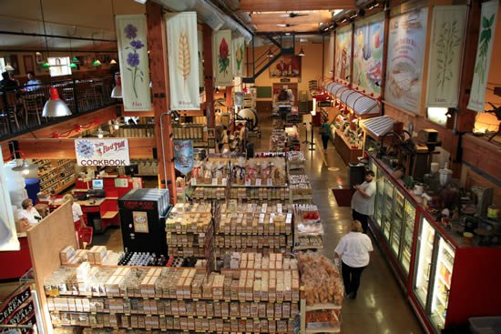 Inside the Bob's Red Mill Store