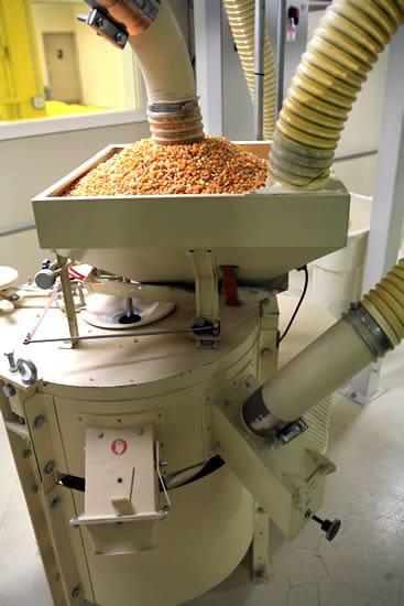Milling Corn