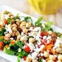 Chickpea, Pumpkin Seed & Feta Salad