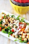 Chickepea, Pumpkin Seed, Feta Salad