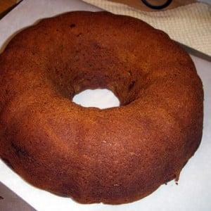 Gluten-Free Pumpkin-Applesauce Bundt Cake