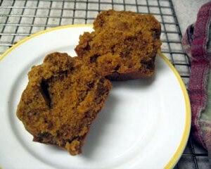 Gluten-Free Pumpkin Pecan Muffins