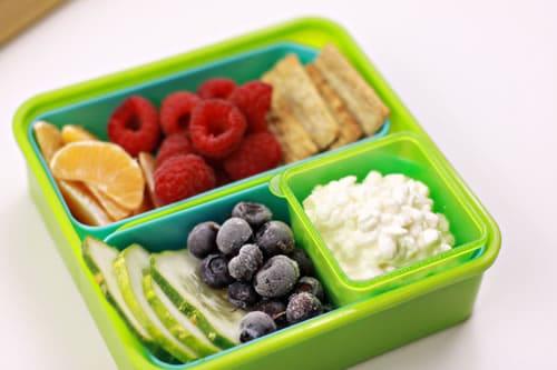 Fresh Produce Healthy School Lunch