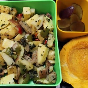 Sausage and Potatoes Hash