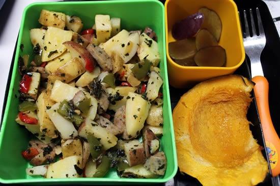 Sausage and Potatoes Hash