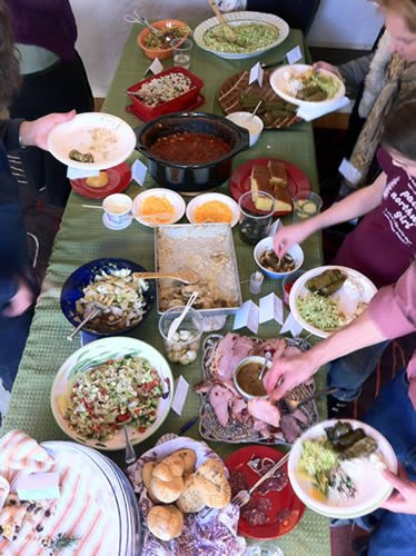 Host an Allergy-Friendly Potluck