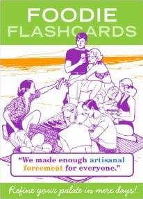 Foodie Flashcards