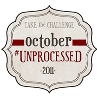 October Unprocessed Logo