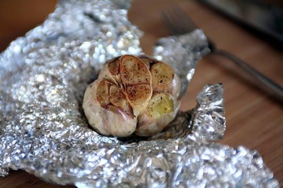 Whole Roasted Garlic