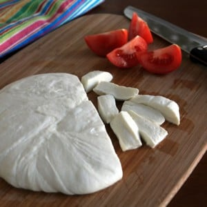 Fresh, Homemade Mozzarella