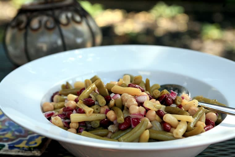 Super-Simple Four Bean Salad Recipe