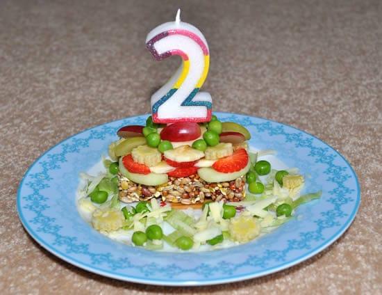 Hamster Food Birthday Cake