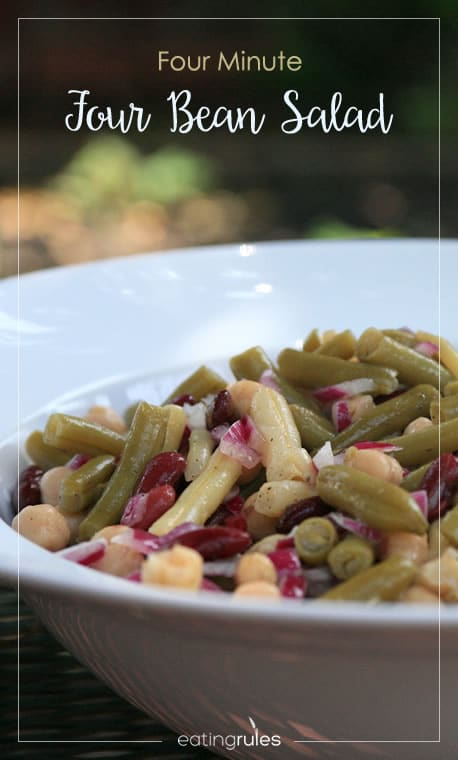 Simple Four Bean Salad Recipe