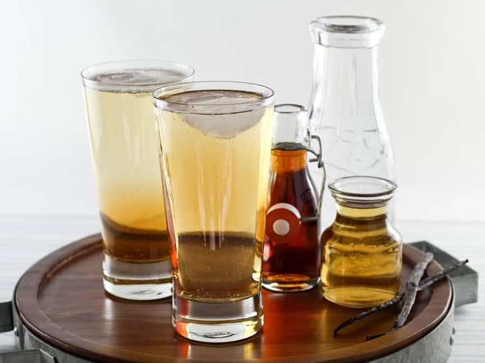 Maple Syrup Drinking Vinegar Soda