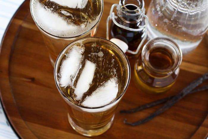 Maple Syrup Drinking Vinegar Soda