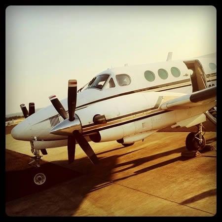 Our private plane