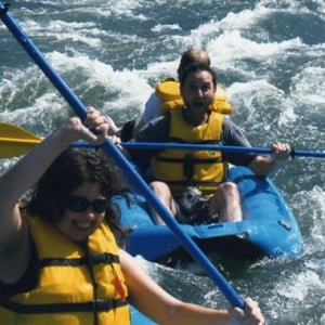 Rafting on the Rogue River