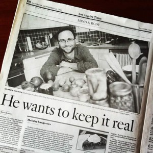 October #Unprocessed is in the Los Angeles Times!