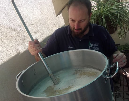 Sean Brewing Unprocessed Beer